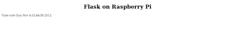 Programming — Exploring the Raspberry Pi 0.1 doentation on